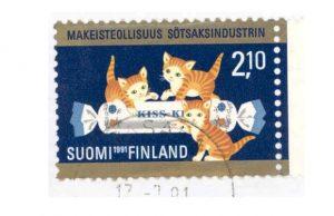 global-finland-kiss-kiss-kiss-kiss-postimerkki