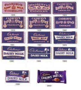 cadbury bars